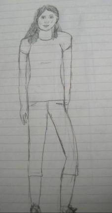 Pencil sketch of me